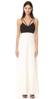 Вечернее платье с цветными блоками Jill Jill Stuart
