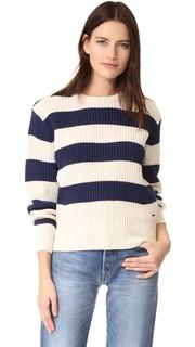 Пуловер с рукавами в форме Scotch & Soda/Maison Scotch
