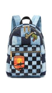 Рюкзак из денима-косуха Marc Jacobs
