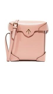 Миниатюрная объемная сумка Pristine Manu Atelier