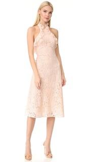 Платье с американской проймой близости с оборками Lover