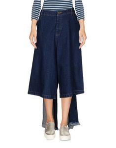 Джинсовые брюки-капри Ashish