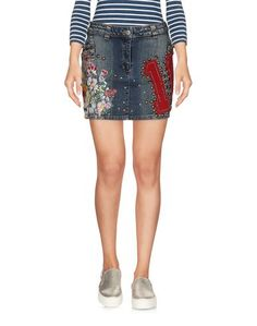 Джинсовая юбка Gaetano Navarra