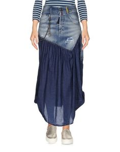 Джинсовая юбка High