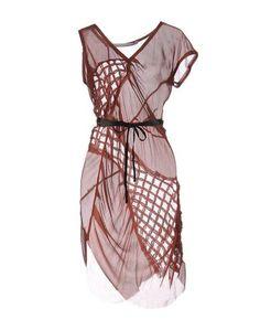 Платье до колена Alessandra Marchi