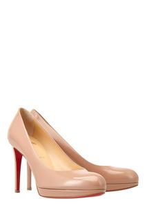 Туфли из лакированной кожи New Simple Pump 100 Christian Louboutin