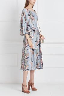 Платье с принтом Zimmermann