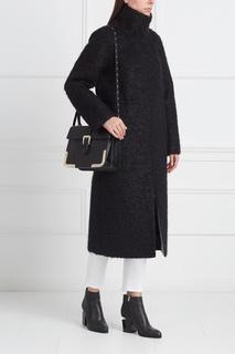 Однотонное пальто Viktoria Irbaieva