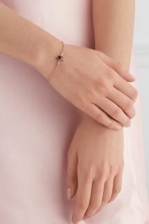 Позолоченный серебряный браслет с турмалином Moonka Studio
