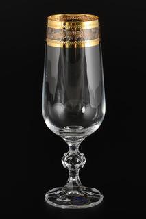 Фужеры для шампанского 180 мл Bohemia Crystall