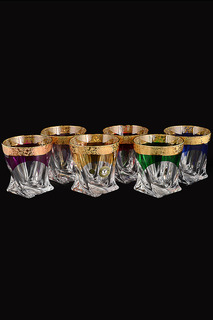 Набор стаканов для виски 320мл Bohemia