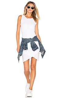 Облегающее платье из мягкой джерси с рюшами - Bobi