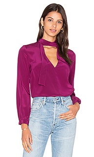 Блуза с завязкой на шее francesca - Amanda Uprichard