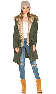 Gerrard jacket with faux fur trim - BB Dakota