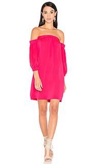 Платье со спущенными плечами - MILLY