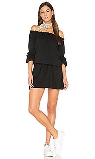Off shoulder shirred mini dress - Chaser