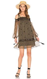 Мини-платье с открытыми плечами roma - boemo