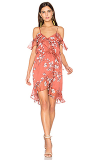 Мини-платье с цветочным рисунком oasis - THE JETSET DIARIES