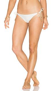 Solid long tie bikini bottom - Vix Swimwear