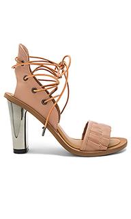 Туфли на каблуке pleat - JAGGAR