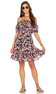 Nouveau floral off shoulder dress - Seafolly