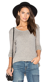 Cashmere rib tee - James Perse