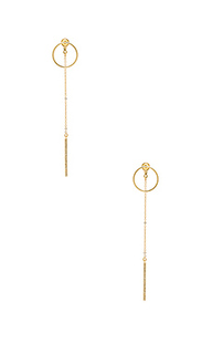 Open circle & dangle earring - Rebecca Minkoff