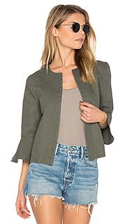 Ruffle sleeve jacket - LEO & SAGE