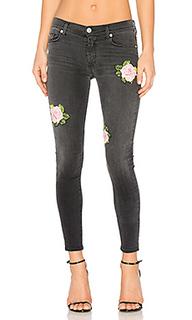 Укороченные узкие джинсы средней посадки nico - Hudson Jeans