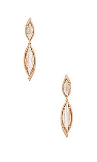 Maisey hourglass earring - Kendra Scott