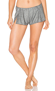 Metallic jersey sleep shorts - Only Hearts