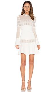 Crepe flare mini dress - NICHOLAS