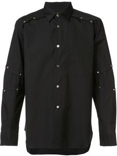 рубашка с панелями на пуговицах Comme Des Garçons Homme Plus