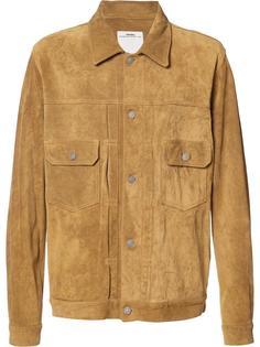 куртка с клапанами на карманах Visvim