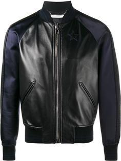 куртка-бомбер со звездами Givenchy
