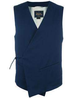 crossover waistcoat Vivienne Westwood Man
