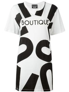 футболка свободного кроя Boutique Moschino