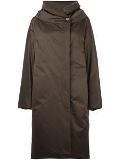 пальто-пуховик 'Banner' с мехом пони Jil Sander