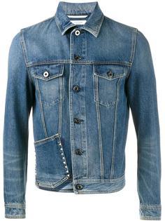 джинсовая куртка Rockstud Valentino