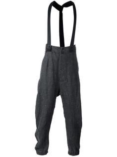 спортивные штаны с подтяжками Lost & Found Ria Dunn