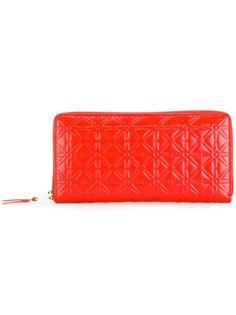 кошелек с тисненым цветочным узором Comme Des Garçons Wallet