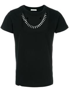 футболка с декоративным ожерельем Alyx