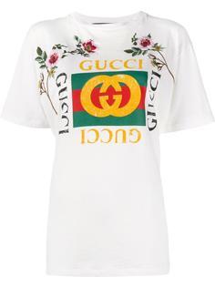 футболка 'Fake Gucci' Gucci