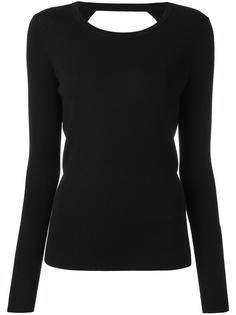 свитер с открытой спиной Diane Von Furstenberg