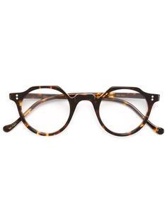 очки с узором черепашьего панциря Lesca