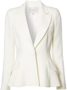 one button tuxedo blazer Carolina Herrera