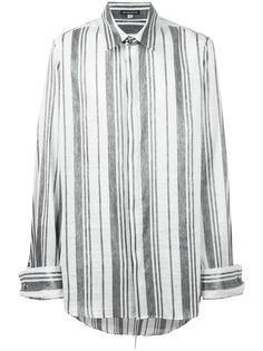 рубашка с серебристыми полосками Ann Demeulemeester