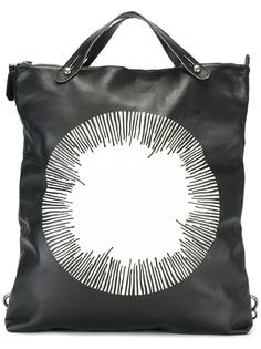 рюкзак с принтом в виде круга Giorgio Brato