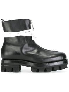 ботинки на молнии со шнурками Alyx