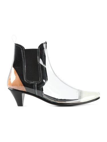 ботинки по щиколотку с панельным дизайном   Comme Des Garçons